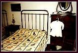 Children's bedroom with quilt