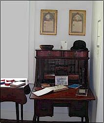 Rev. Charles Lovell's desk