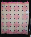 log cabin variation quilt