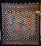front ocean waves pattern quilt
