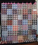 double X pattern quilt