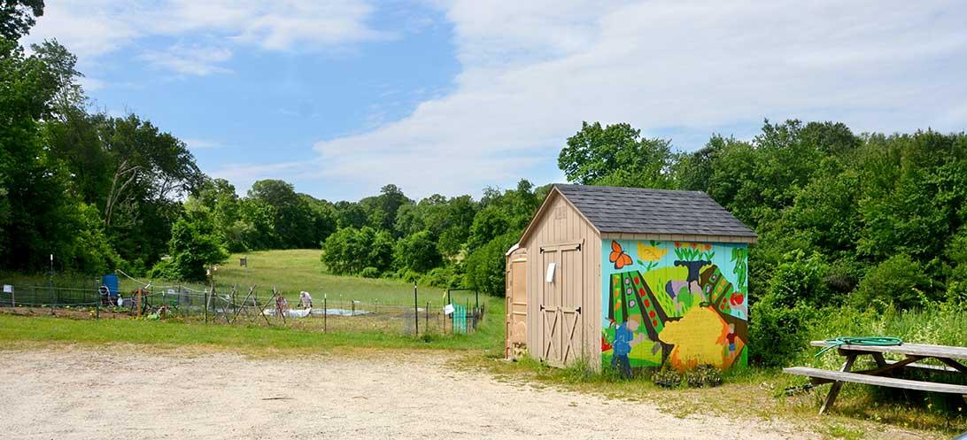 Monson Community Garden at Keep Homestead Museum