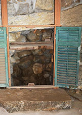 Spring-fed well located in the oldest portion of the cellar