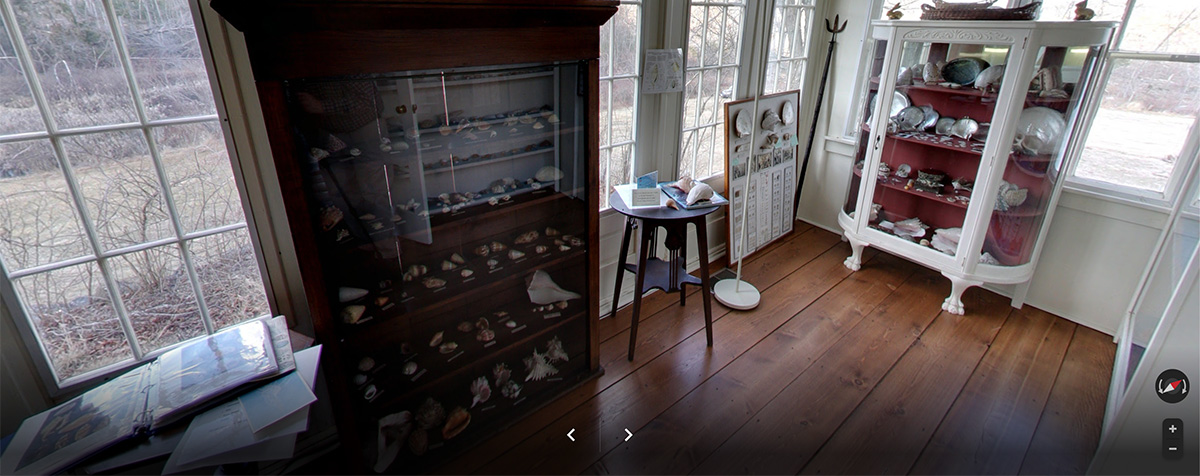 Virtual tour of the Keep Homestead Museum